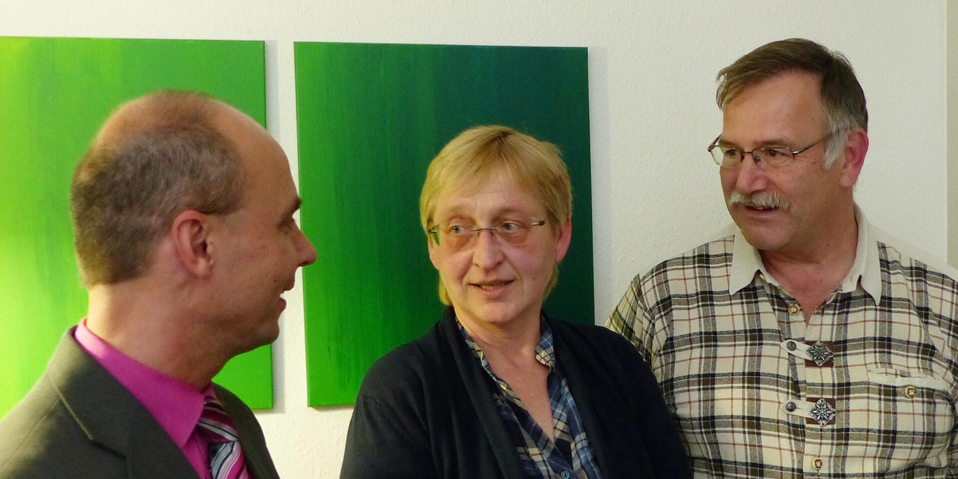 Klaus Klemm, Sabine Heider, Edwin Ernst