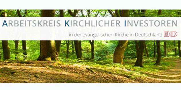 Arbeitskreis Kirchlicher Investoren Schriftzug, Bild: © EKD