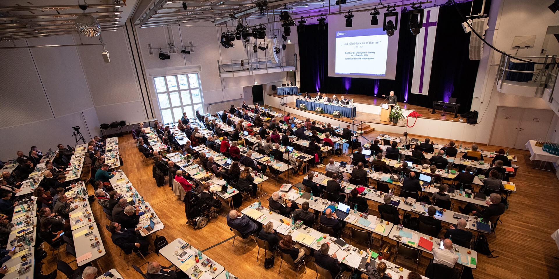 Landessynode Bamberg Plenum Haushalt