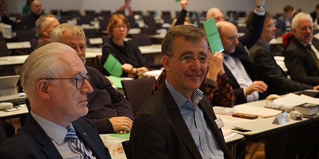 Joachim Pietzcker auf der Synodaltagung 2019 in Bamberg